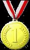 1° / Medaglia d'Oro